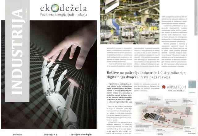 Industry 4.0 in digitalizacija - AXIOM TECH v ekodežela
